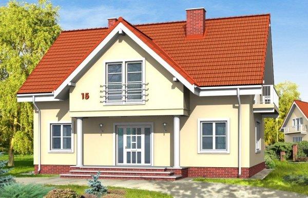 Projekt domu Miodowe Lata pow.netto 169,45 m2