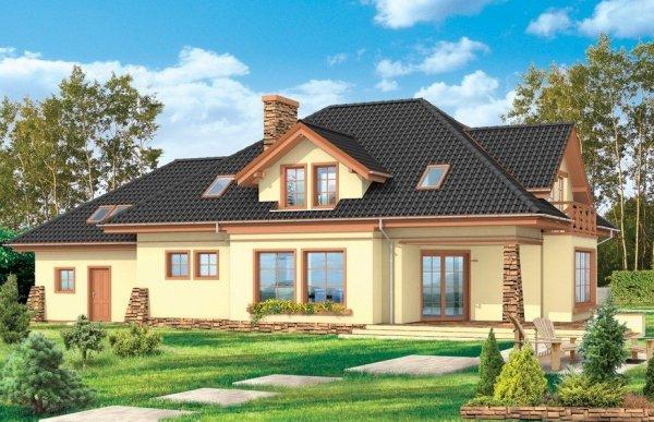 Projekt domu Benedykt IV pow.netto 252,78 m2