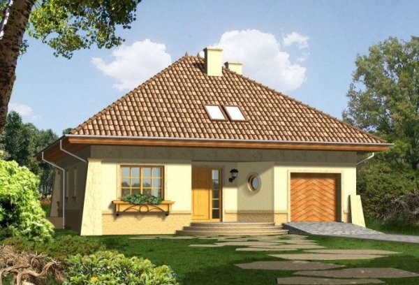 Projekt domu MALAGA