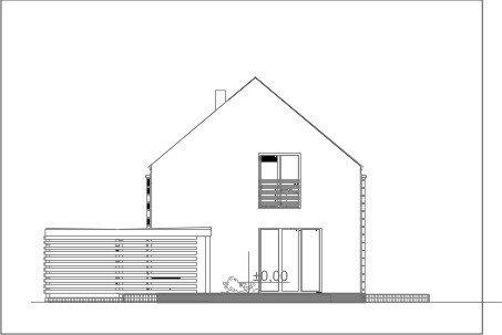 Projekt domu pasywnego greenCube 134