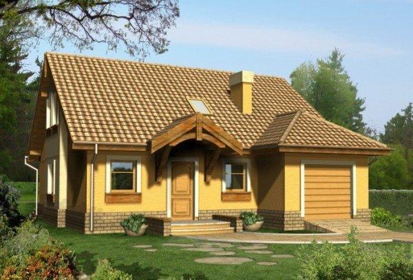 Projekt domu LAPIS 2