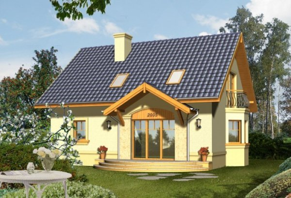 Projekt domu ROMA
