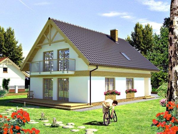 Projekt domu Paryskie Dni