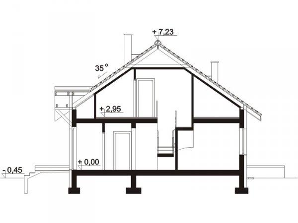 Projekt domu Luana