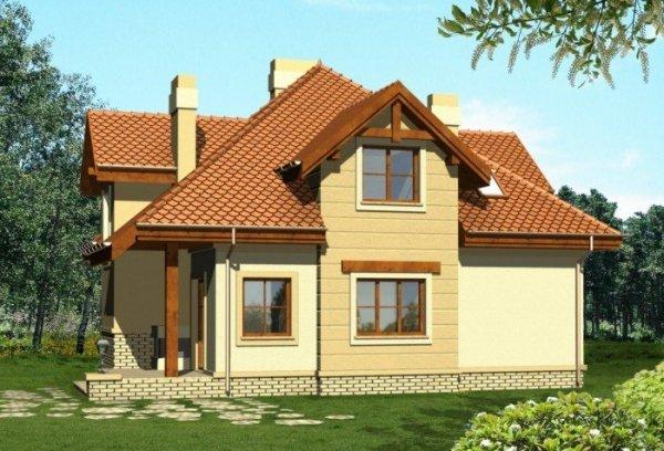 Projekt domu KORAL