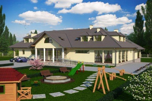 Projekt przedszkola K-45 na 50 dzieci