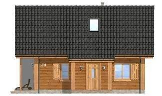 Projekt domu Sosenka IV pow.netto 63,32 m2