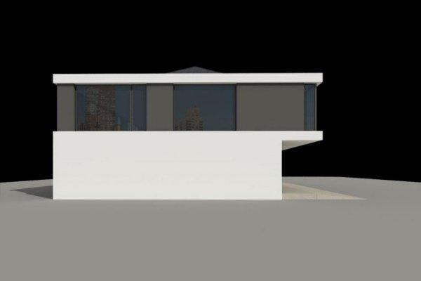 Projekt biurowca PS-SA-290-20V2 pow. 563,19 m2