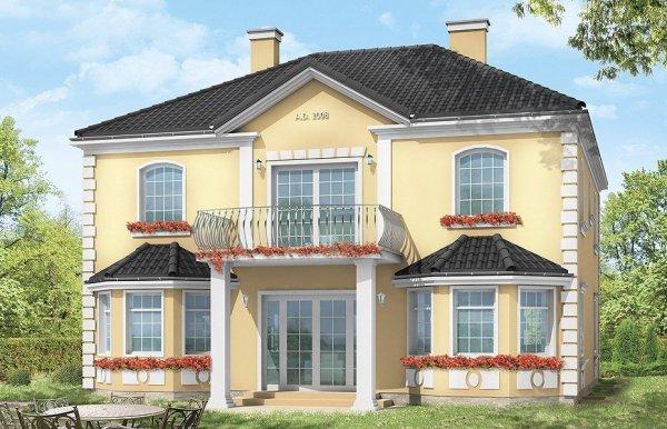 Projekt domu Stylowy pow.netto 220,47 m2
