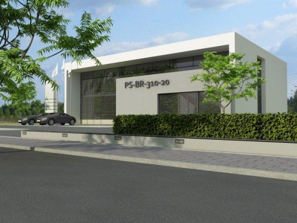 Projekt biurowca PS-BR-310-20 pow. 569,11 m2