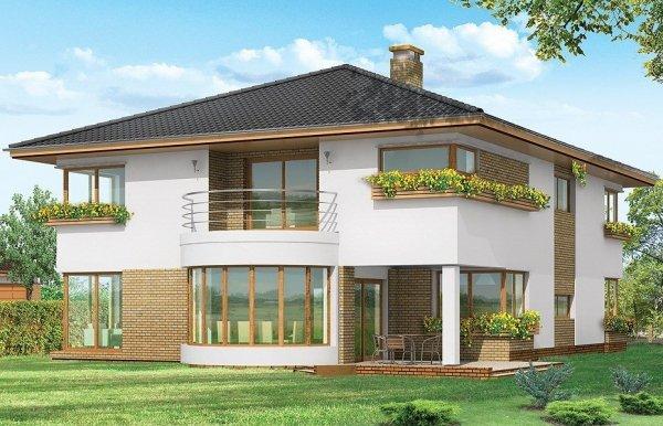 Projekt domu Gabriela pow.netto 321,79 m2