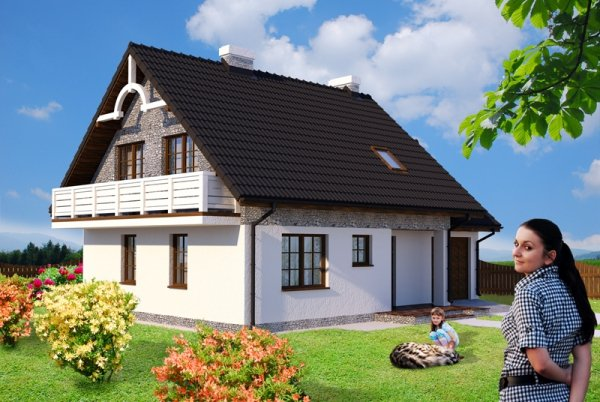 Projekt domu Różany Stok