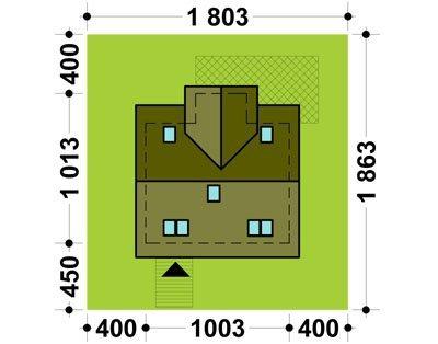 Projekt domu TK10