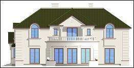Projekt domu Ambasador pow.netto 277,15 m2