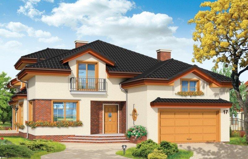 Projekt domu Rodzinny pow.netto 233,55 m2