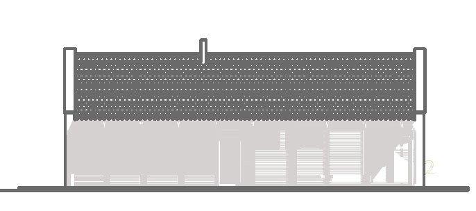 Projekt domu pasywnego greenCube 108
