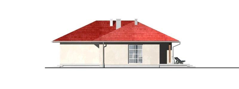 Projekt domu parterowego DG17L
