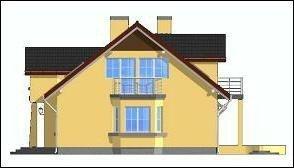Projekt domu Zgrabny II pow.netto 164,93 m2