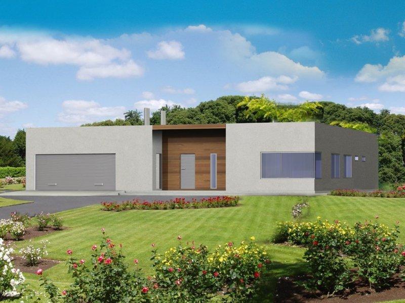 Projekt domu nowoczesnego DG05