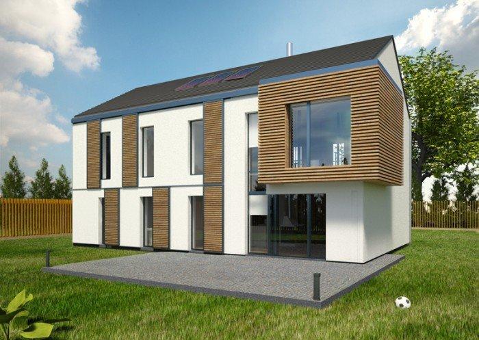 Projekt domu pasywnego greenSpace 192