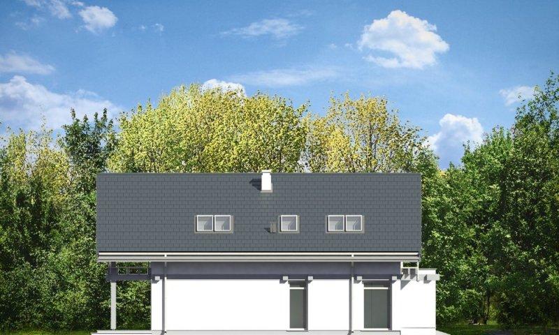 Projekt domu Otwarty 2 pow.netto 170.8 m2