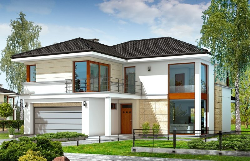 Projekt domu Riwiera pow.netto 238,51 m2