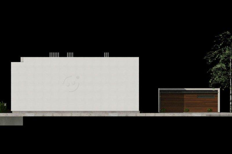 Projekt domu szeregowego PS-GE-95-20G o pow. 227,40 m2