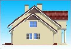 Projekt domu Zgrabny IV pow.netto 186,36 m2