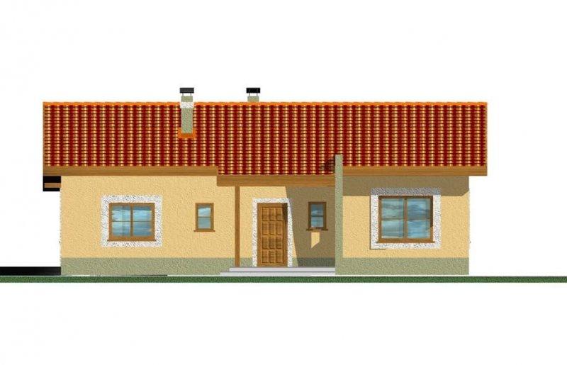 Projekt domu Mniszek wer. A (bez garażu)