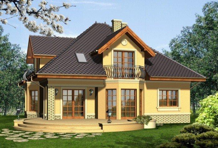 Projekt domu IKEBANA