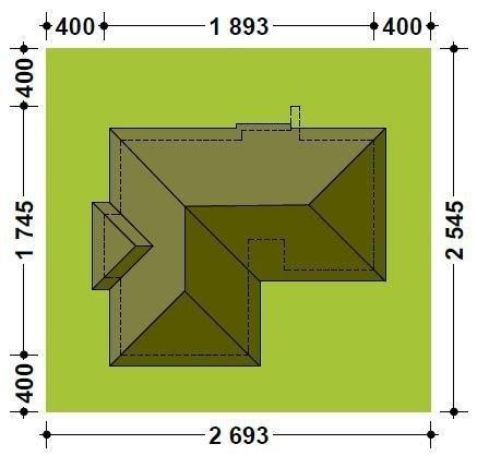 Projekt domu TK31