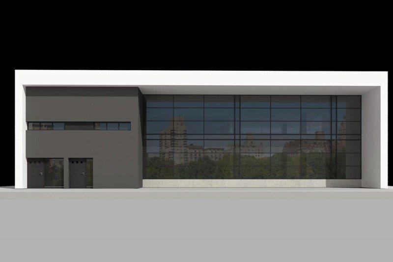 Projekt biurowca PS-BR-340-20 o pow. 624,67 m2