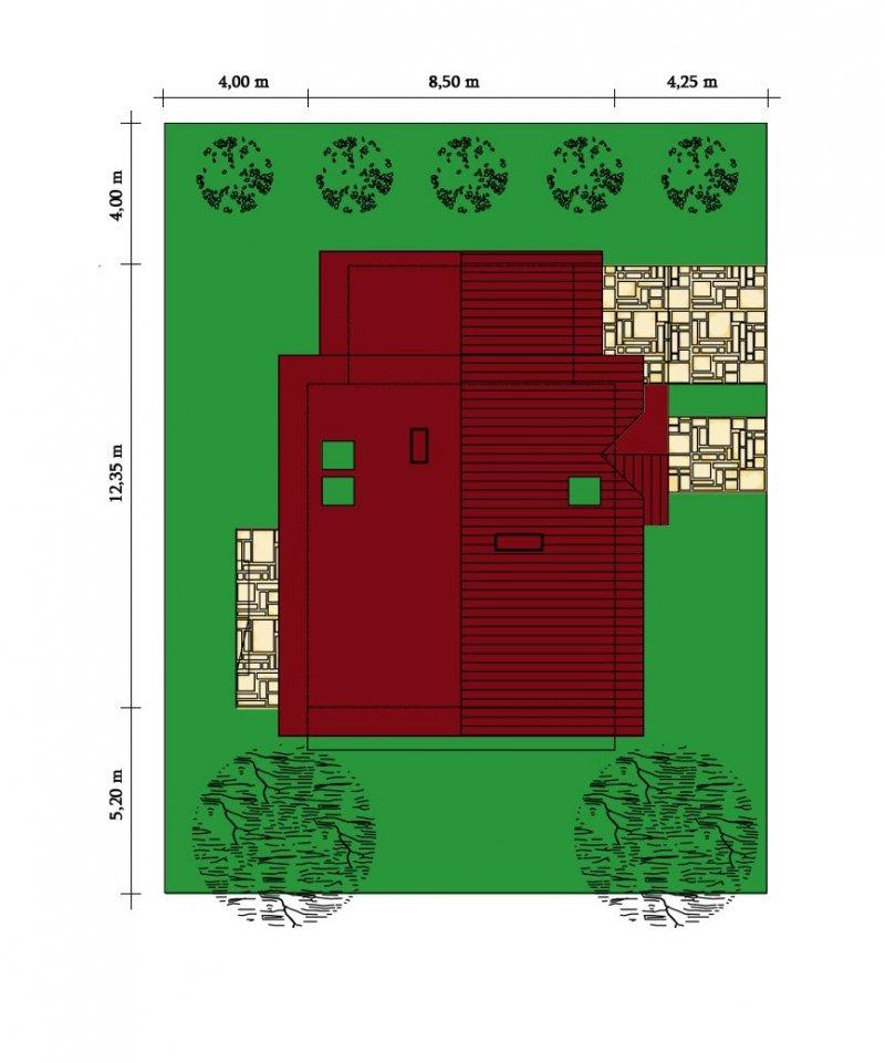 Projekt domu Zielony Raj
