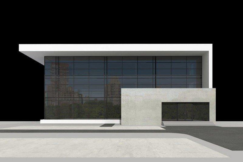 Projekt biurowca PS-BP-340-30 o pow. 921,46 m2
