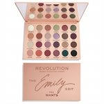 Makeup Revolution The Emily Edit Paleta do makijażu The Needs  1szt