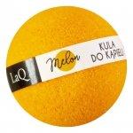 LaQ Kula musująca do kąpieli Melon - pomarańczowa  100g