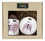 LaQ Zestaw prezentowy dla kobiet Kocica (peeling myjący 200ml+żel pod prysznic 500ml) 1op.