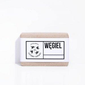 Mydlarnia Cztery Szpaki Mydło węglowe, detoksykujące – cera trudna, trądzikowa, łojotokowa 110g