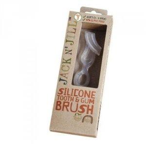 Jack N'Jill Szczoteczka do masażu dziąseł i mycia pierwszych ząbków 2 - 5 lata