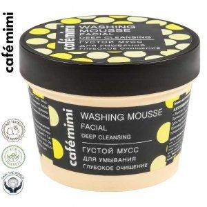 Cafe mimi Gęsty mus do mycia twarzy Głębokie oczyszczenie, 110 ml