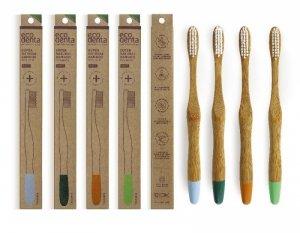 ECODENTA Bambusowa szczoteczka do zębów (miękka) 1 szt.
