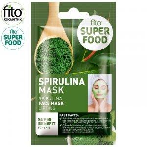 FITO SUPERFOOD Maska do twarzy, efekt liftingu, Spirulina, 10 ml