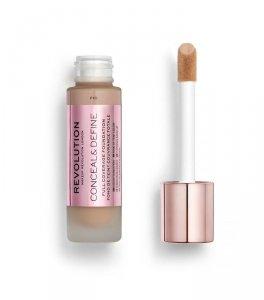 Makeup Revolution Conceal & Define Foundation Podkład kryjący F10  23ml