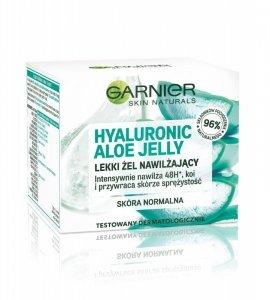 Garnier Skin Naturals Hyaluronic Aloe Jelly Lekki Żel nawilżający do twarzy  50ml