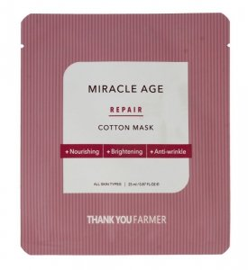 Thank You Farmer True Miracle Age Maska w płacie