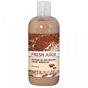 Fresh Juice Żel pod prysznic kremowy Tiramisu  500ml