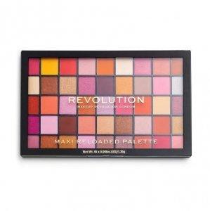 Makeup Revolution Maxi Reloaded Palette (45) Paleta cieni do powiek Big Big Love 1 szt.