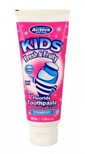 Beauty Formulas Active Oral Care Kids Pasta do zębów dla dzieci Fresh&Fruity  100ml