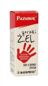 Kosmed Pazurek Gorzki Żel przeciw obgryzaniu paznokci  10ml