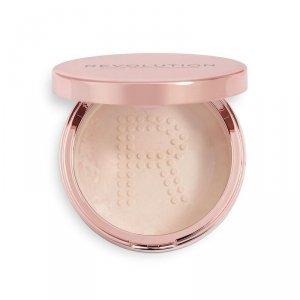 Makeup Revolution Conceal & Fix Setting Powder Puder sypki Light Pink 13g